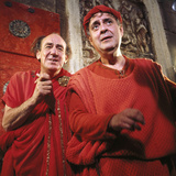 A Funny Thing Happened On The Way To The Forum, Michael Hordern, Zero Mostel, 1966 Photographie