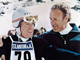 Downhill Racer, Robert Redford, Gene Hackman, 1969 Photo