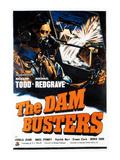 The Dam Busters, (AKA The Dambusters), 1955 Plakát