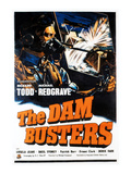 The Dam Busters, (AKA The Dambusters), 1955 Poster