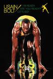 Usain Bolt - I'm Ready Olympics Poster Prints