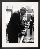 Thelonious Monk - 1964 Framed Photographic Print by Moneta Sleet