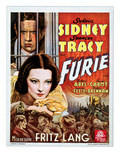 Fury (AKA Furie), Spencer Tracy, Sylvia Sidney, 1936 Prints