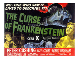 Curse Of Frankenstein, 1957 Affiches