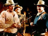 El Dorado, Robert Mitchum, Arthur Hunnicutt, John Wayne, 1966 Prints