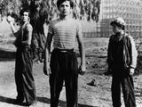 Los Olvidados, Roberto Cobo, Alfonso Mejia, 1950 Photo