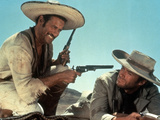 The Good, The Bad And The Ugly, Eli Wallach, Clint Eastwood, 1966 Photo
