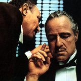 The Godfather, Salvatore Corsitto, Marlon Brando, 1972 Photo