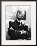 Dr. Benjamin E. Mays - 1978 Framed Photographic Print by Norman Hunter