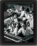 Framed: John Lennon (Montage) Poster