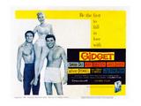 Gidget, Cliff Robertson, Sandra Dee, James Darren, 1959 Posters