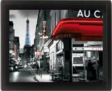 Framed: Rue Parisienne Poster