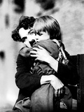 The Kid, Charlie Chaplin, Jackie Coogan, 1921 Print