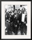 March on Washington 1963 Framed Photographic Print by Moneta Sleet