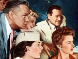 The High And The Mighty, David Brian, Jan Sterling, Doe Avedon, John Wayne, Claire Trevor, 1954 Posters