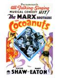 The Cocoanuts, Chico Marx, Groucho Marx, Harpo Marx, Zeppo Marx, 1929 Posters
