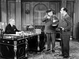 The Bank Dick, Pierre Watkin, W C Fields, Franklin Pangborn, 1940 Photo