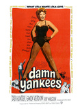 Damn Yankees, Ray Walston, Gwen Verdon, Tab Hunter, 1958 Prints