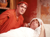 A Funny Thing Happened On The Way To The Forum, Zero Mostel, Jack Gilford, 1966 Photo