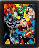 Dc Comics (Heroes) Affiches