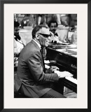 Ray Charles - 1979 Framed Photographic Print by Perry Harmon