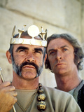 The Man Who Would Be King, Sean Connery, Michael Caine, 1975 Photo