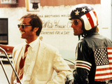 Easy Rider, Jack Nicholson, Peter Fonda, 1969 Print