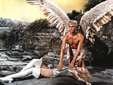 Barbarella, Jane Fonda, John Phillip Law, 1968 Prints