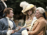 Barry Lyndon, Ryan O'Neal, Marisa Berenson, Andre Morell, 1975 Photo
