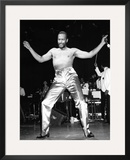 Marvin Gaye - 1983 Framed Photographic Print by Bob Johnson