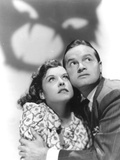 The Cat And The Canary, Paulette Goddard, Bob Hope, 1939 Photo