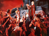 The Ten Commandments, John Derek, Debra Paget, Yvonne De Carlo, Charlton Heston, 1956 Foto