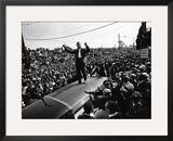Ralph Abernathy - 1968 Framed Photographic Print by Howard Simmons