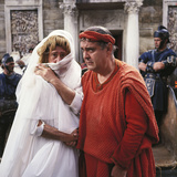 A Funny Thing Happened On The Way To The Forum, Jack Gilford, Zero Mostel, 1966 Photo