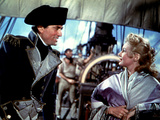 Captain Horatio Hornblower, Gregory Peck, Virginia Mayo, 1951 Photo