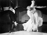 Swing Time, Fred Astaire, Ginger Rogers, 1936 Print