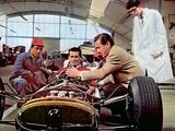 Grand Prix, James Garner, Toshiro Mifune, 1966 Photographie