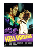 Hell Drivers, Stanley Baker, Peggy Cummins, 1957 Prints
