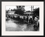 Bogalusa Protest - 1965 Framed Photographic Print by Maurice Sorrell