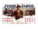 Jesse James, Tyrone Power As Jesse James, 1939 Photo
