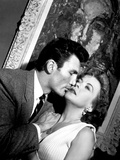 The Big Knife, Jack Palance, Ida Lupino, 1955 Photo