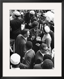 March on Washington - 1963 Framed Photographic Print by Norman Hunter