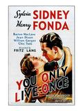 You Only Live Once, Sylvia Sidney, Henry Fonda, 1937 Photo