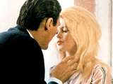 Contempt, (AKA Le Mepris), Jack Palance, Brigitte Bardot, 1963 Prints