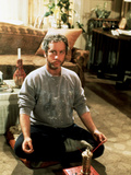 Goodbye Girl, Richard Dreyfuss, 1977, Cross Legged In Yoga Position Photo