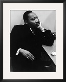 Martin Luther King Jr. Framed Photographic Print by Staff Photography