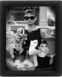Audrey Hepburn (Montage) Prints