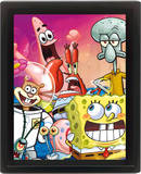 Framed: Spongebob (Group) Posters