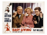 Easy Living, Edward Arnold, Jean Arthur, Ray Milland, 1937 Photo
