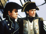 Captain Horatio Hornblower, Terence Morgan, Gregory Peck, 1951 Photo